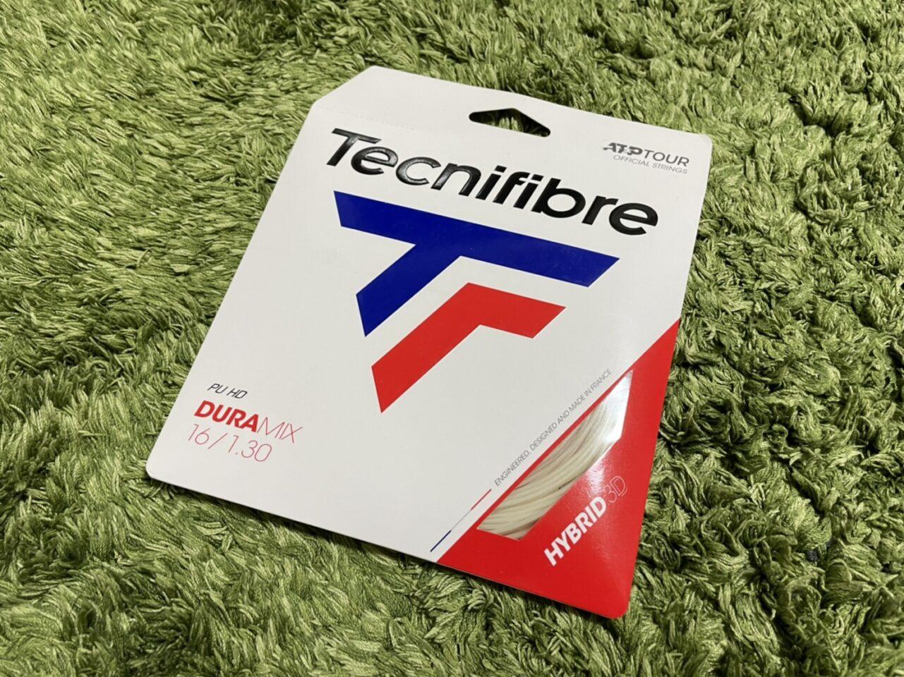 【Tecnifibre】デュラミックス|インプレ・レビュー